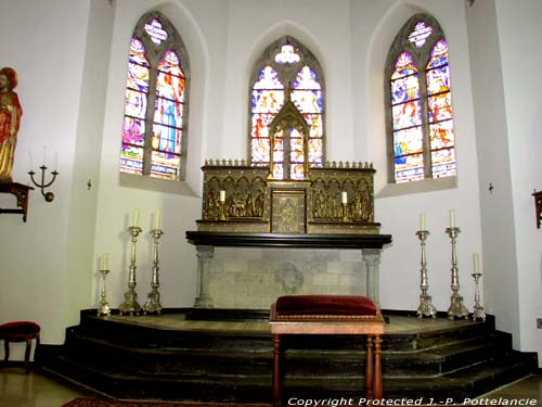Saint-Bavo's church (in Baaigem) GAVERE picture