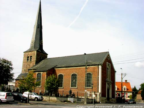 Saint-Andreaschurch (in Beerlegem) ZWALM picture