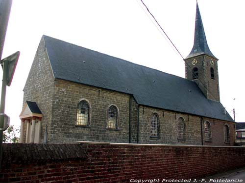 Saint Almond's church (in Hundelgem) ZWALM picture