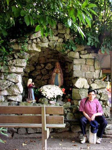 Our Lady Virgin Birth church (in Small Sinaai) STEKENE picture