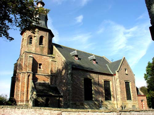 Saint Dennis' church (in Robost) ZWALM picture