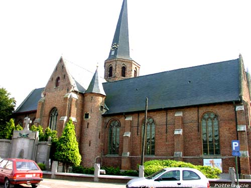 Saint Catherines' church WACHTEBEKE picture