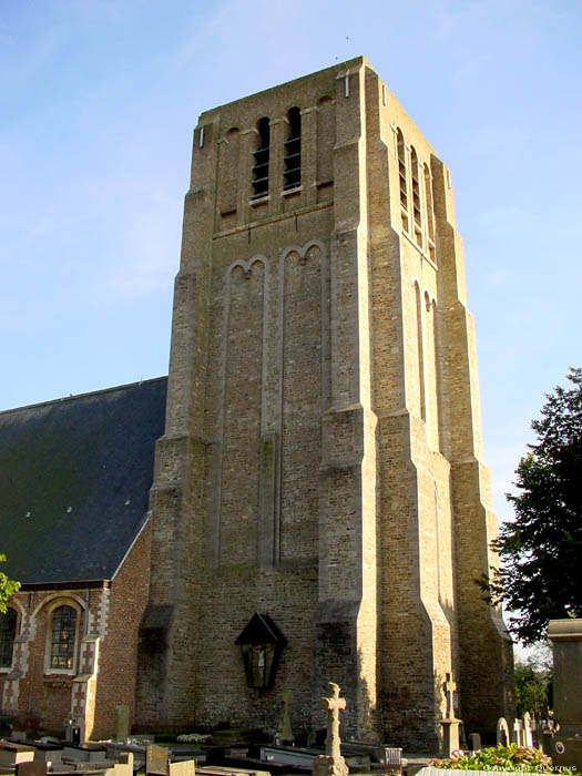 Eglise Saint Quintin de Oostkerke DAMME photo