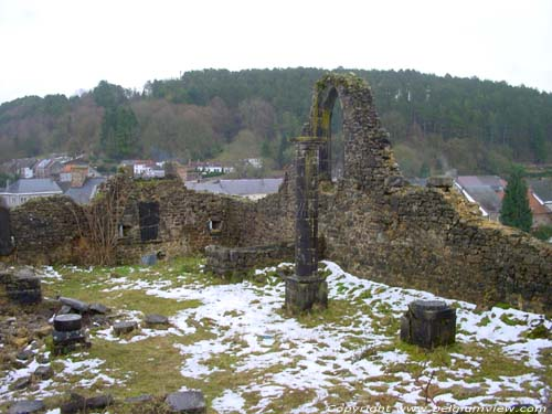 Ruins of Saint-Lambert's church NISMES / VIROINVAL picture