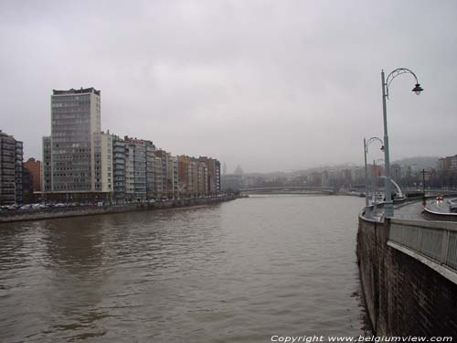 View on the Maas River LIEGE 1 / LIEGE picture