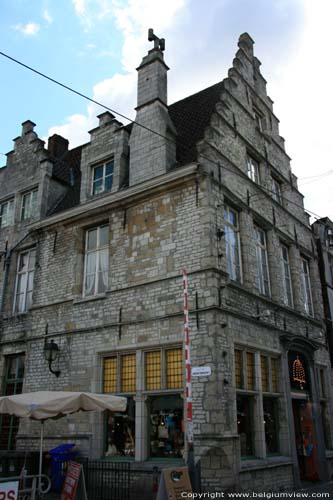 Former guildhall of the fish sellers GHENT picture