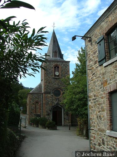Saint Adrew's church (in Coo) STAVELOT picture