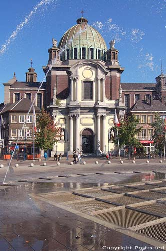 Saint-Christopher's church CHARLEROI picture