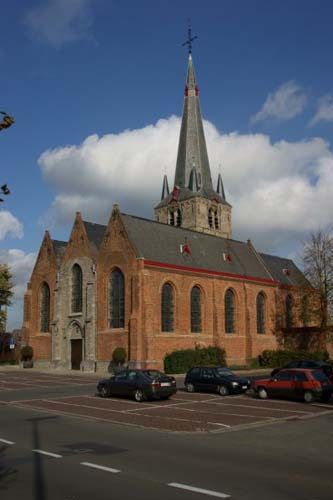 Saint Peter's church (in Emelgem) IZEGEM picture