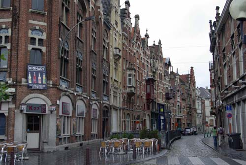 Overview Baudeloostraat GHENT picture