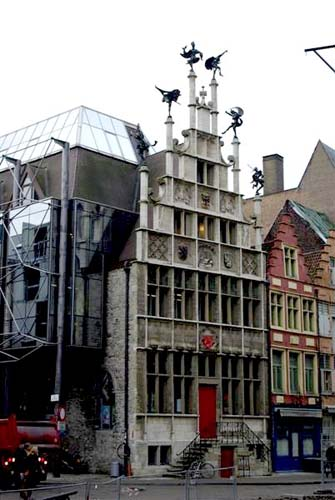 Guilthouse of the bricklayers GHENT picture