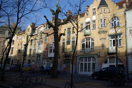 Kunstlaan - Several houses from Interbellum GHENT picture