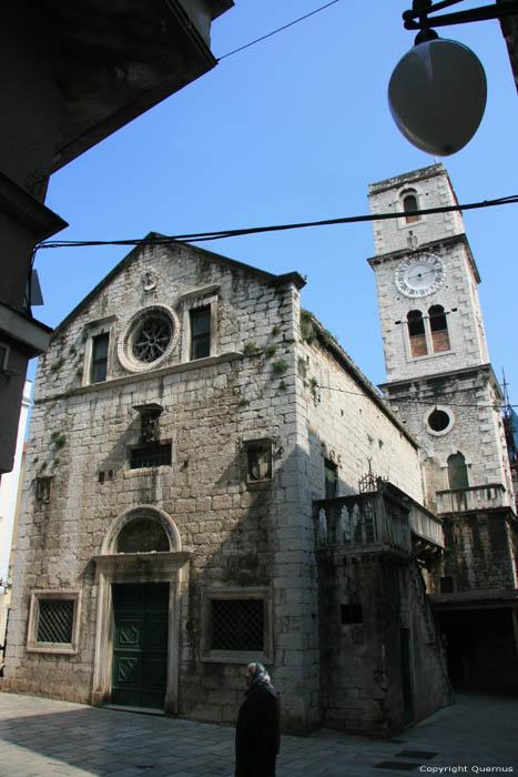 Église Saint Jean - Sain Yvan Sibenik / CROATIE