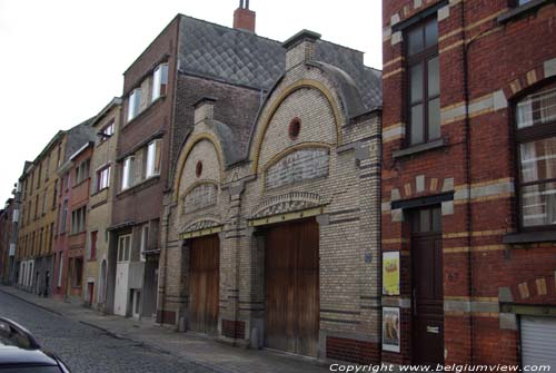 Special Gable in Karel de Stoute street  GHENT picture