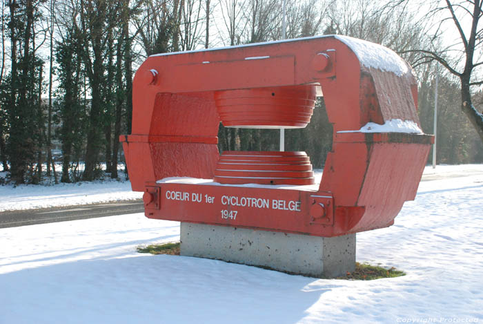 The red old cyclotron of Louvain la neuve LOUVAIN-LA-NEUVE / OTTIGNIES-LOUVAIN-LA-NEUVE picture