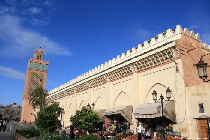 Kasbah Mosque El mansour Marrakech / Morocco