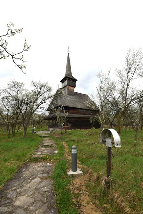 Presentation of the Virgin at the Temple Wooden church  Barsana / Romania