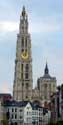 Our Ladies Cathedral ANTWERP 1 / ANTWERP picture: Seen from the Schelde
