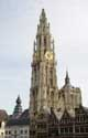 Our Ladies Cathedral ANTWERP 1 / ANTWERP picture: Seen from the town hall