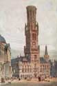 Belfry or bell-tower of Bruges BRUGES picture: e