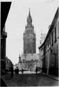 Belfry, bell-tower and clothmakers' hall GHENT picture: Situation around 1900