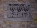 Saint Waudru church MONS picture: Half relief dated 1434