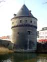 Broel bridge and towers KORTRIJK picture: