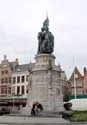 Statue Pieter de Koninc and Jan Breidel BRUGES picture: