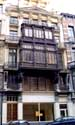 Gentlemen's house with wooden oriel BRUSSELS-CITY / BRUSSELS picture: