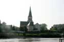 Saint John Decapitation Church (in Schellebelle) WICHELEN picture: View from the other side of the river Scheldt