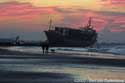 Boat on the beach BLANKENBERGE picture: