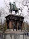 Horseman's statue of Emperor Charles LIEGE 1 / LIEGE picture: