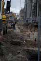 Excavations Emiel Braunplein GHENT picture: