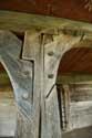 Presentation of the Virgin at the Temple Wooden church  Barsana / Romania: